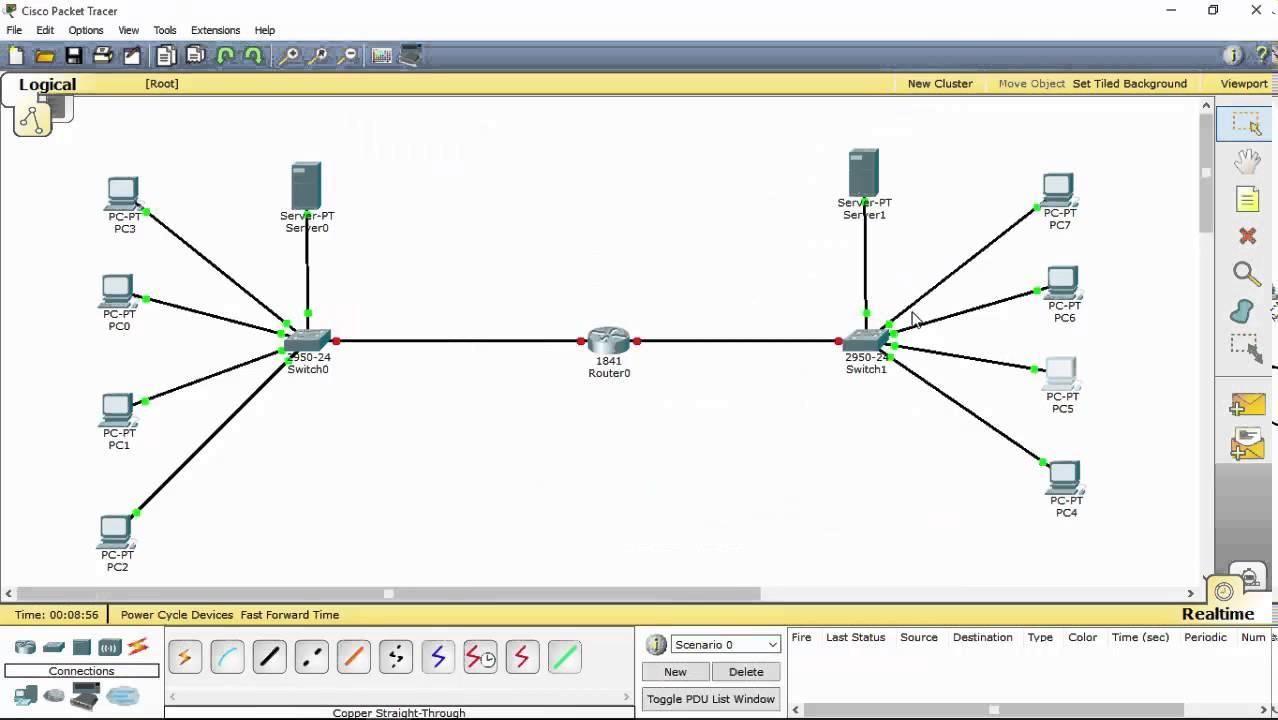 Tutorial membuat skema jaringan komputer cisco packet tracer youtube tutorial membuat skema jaringan komputer cisco packet tracer ccuart Gallery