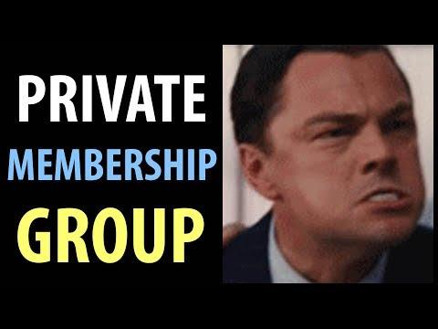 Private Entrepreneur & Investor Membership Group