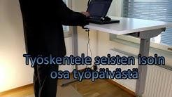 Sähköpöytä on monipuolinen työpöytä