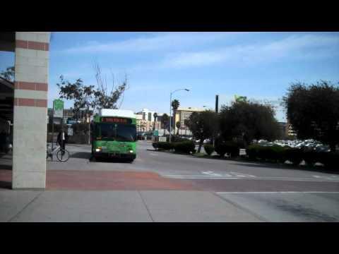 Culver City Line 6, Rapid 6, Big Blue Bus Rapid 3 at LAX City Bus Center