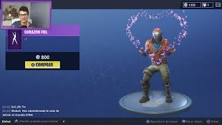 * NEW DANCE + NEW SKIN + RED LADY * FORTNITE LOJA 07/07/18