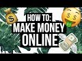 HOW TO MAKE MONEY ONLINE | Fast + Easy!!