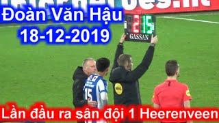 Đoàn Văn Hậu quay cận cảnh lần đầu ra sân đội 1 SC Heerenveen quá xuất sắc 18-12 | Sarah Nguyen