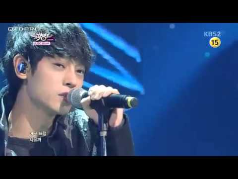 [131018] Jung Joon Young - 10 Minutes Before Break up @Music Bank