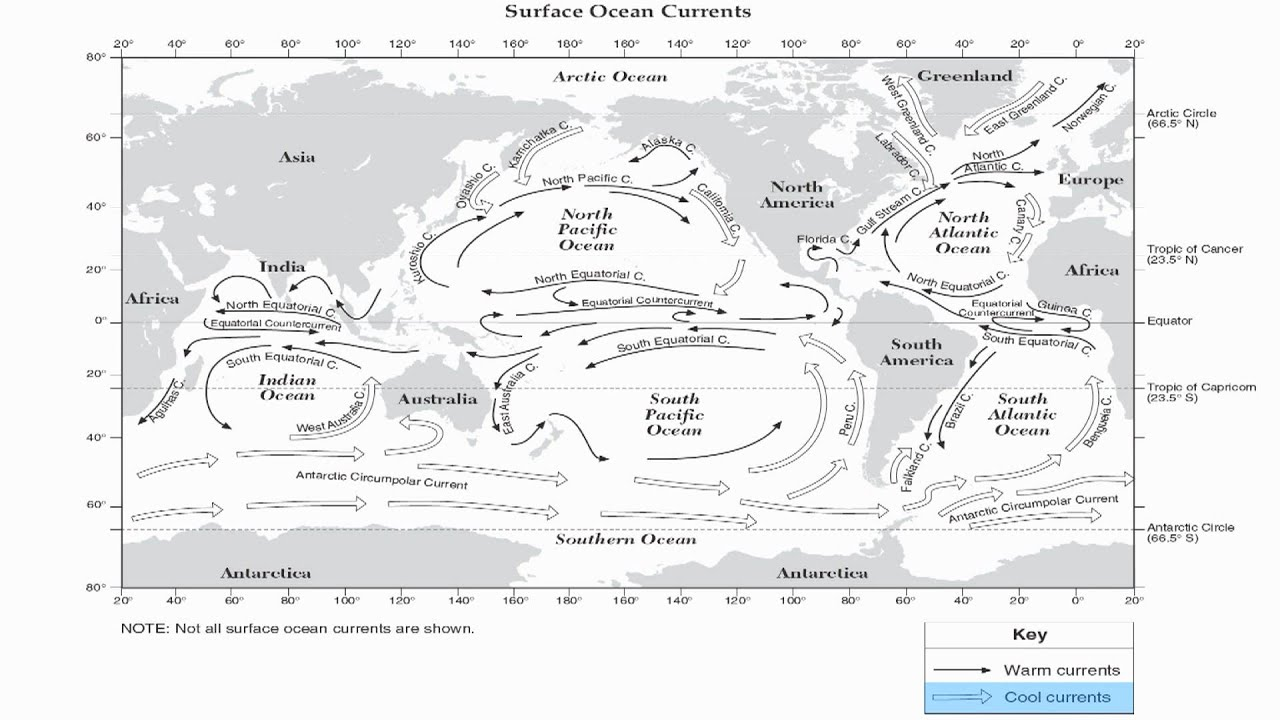 worksheet Ocean Currents Worksheet worksheet ocean current thedanks for everyone reference table page 4 currents hommocks earth science department