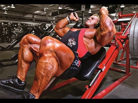Jay Cutler's - Legs day and squad Workout Motivation