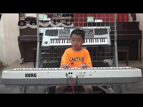 Phạm Quốc Bình (Học sinh trường nhạc Hóa Quang) - Country Dance - KORG SP250