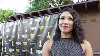 EXCLUSIVE: Saturn Awards 2017 Interview w/ Candice Patton