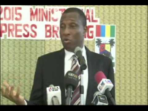 2015 Press Briefing, Ministry Of Environment