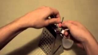 Как сделать декор лампы. Уроки декупажа. Американское видео с переводом.