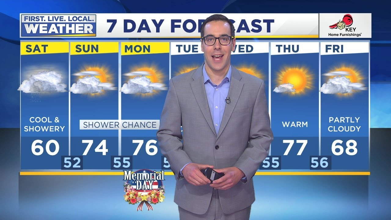 Saturday morning FOX 12 weather forecast (5/25) – Weather Point