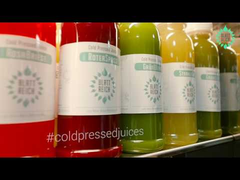 BlattReich - Green Smoothies and Cold Pressed Juices