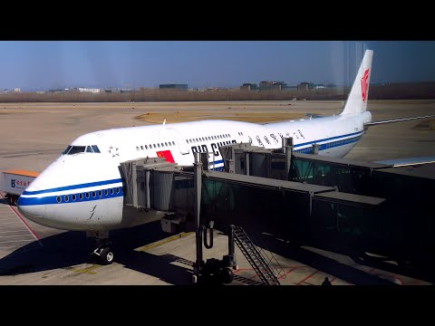 TRIP REPORT | Air China 747-8i (ECONOMY) | BETTER THAN I THOUGHT! | Frankfurt To Beijing