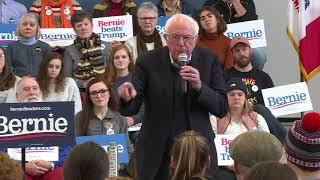 CAMPAIGN 2020: Bernie Sanders responds to Donald Trump's recent attacks