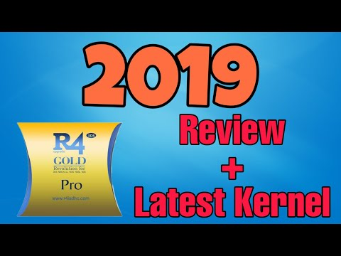 R4 Gold Pro 2019 unboxing, review and usage! - YouTube
