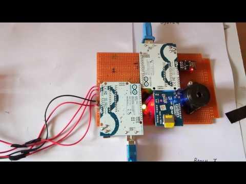 Iot based vehicle  emission monitoring system