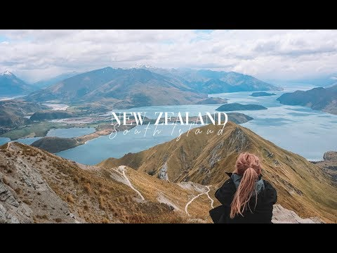 Travelling around the South Island of New Zealand (2018/19)
