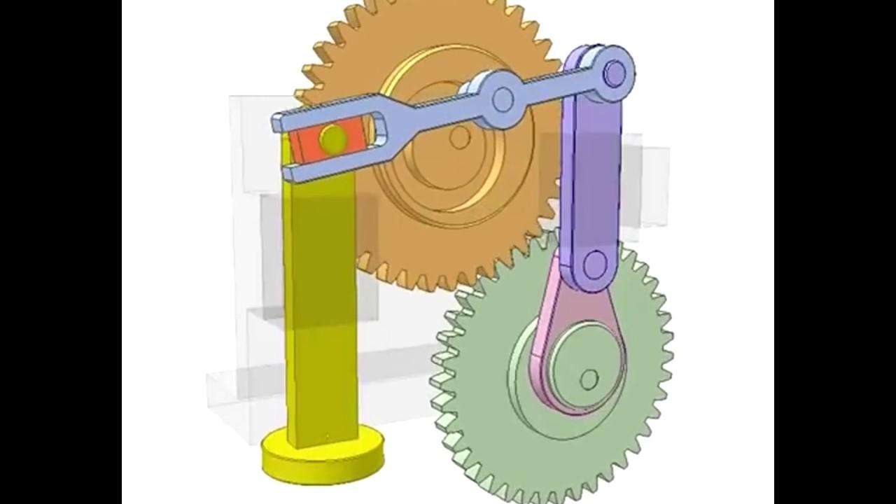 Открытка с механизмом вращения