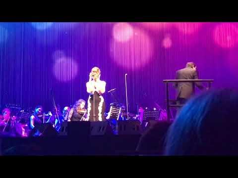 Ilaria Della Bidia, Somewhere Over The Rainbow, Andrea Bocelli Tour - Tauron Arena, Krakow Poland