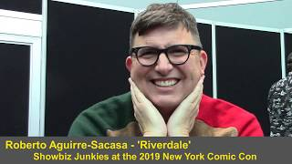 Riverdale - Roberto Aguirre Sacasa Season 4 Interview (NYCC)