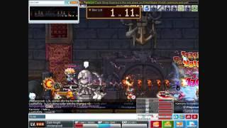 chickenpoodl 200 dark knight vs crimsonwood keep party quest bosses (maplestory)