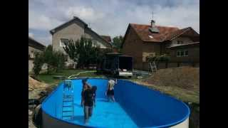 Kako postaviti bazen u dvoriste? HOW TO INSTALL POOL IN BACKYARD? TUTORIAL(, 2014-07-22T13:41:14.000Z)