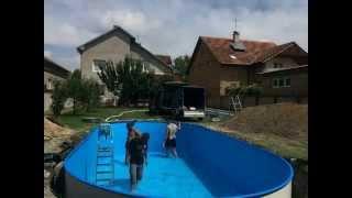 Kako postaviti bazen u dvoriste? HOW TO INSTALL POOL IN BACKYARD? TUTORIAL(, 2014-07-22T13:41:14.000Z)