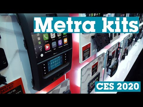 CES 2020: Metra Dash Kits For Car Stereos | Crutchfield