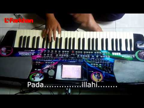 Serba Dua (Putri) cover Karaoke Lirik by El Farkhan Kebumen