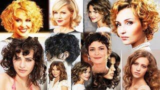 Модные женские стрижки на кудрявые волосы