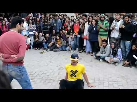 Sean Garnier Playing Games and Dancing Event In NCA Lahore Pakistan Presented By Red Bull