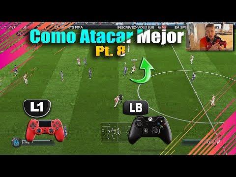 Fifa 18 Como Atacar Mejor Profesionalmente  Parte 8 - TUTORIAL Truco L1 Para Darse Vuelta Mas Rapido