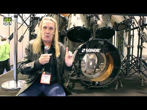 Nicko McBrain returns to Sonor Drums