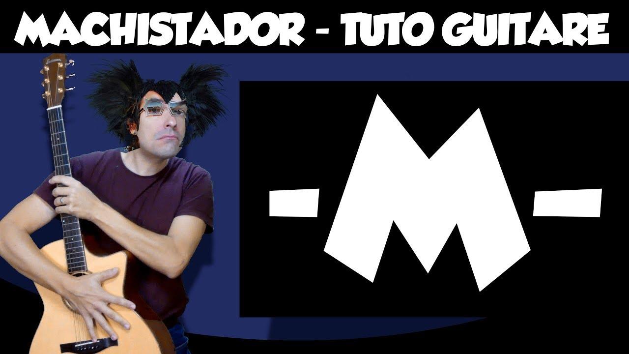Download Machistador - -M- - le tuto guitare facile
