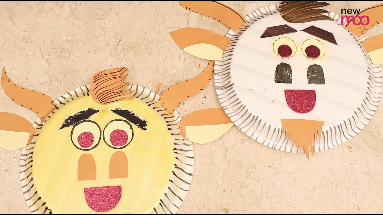 How to make Cute Animal masks using Paper Plates | paper arts and crafts