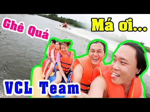 Thử Thách Ôm Cây Chuối - Cảm Giác Mạnh Cùng VCL Team - Part 2 @Linh Vyy Official