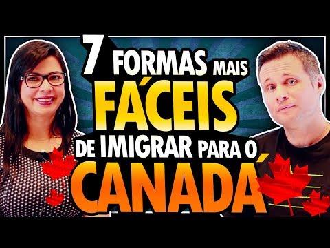 7 FORMAS MAIS FÁCEIS DE IMIGRAR PARA O CANADÁ