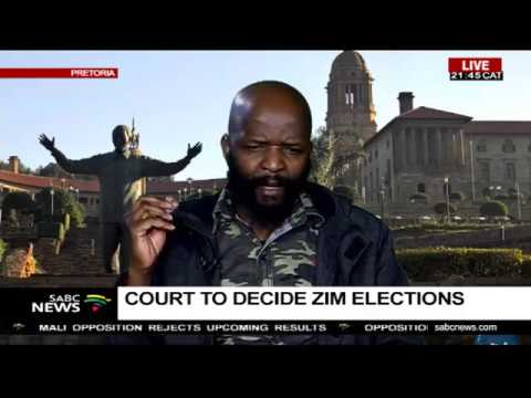 Developments in Zimbabwe post elections: Dr. William Mpofu