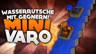 Wasserrutsche mit Gegnern! - Minecraft Mini Varo! | DieBuddiesZocken