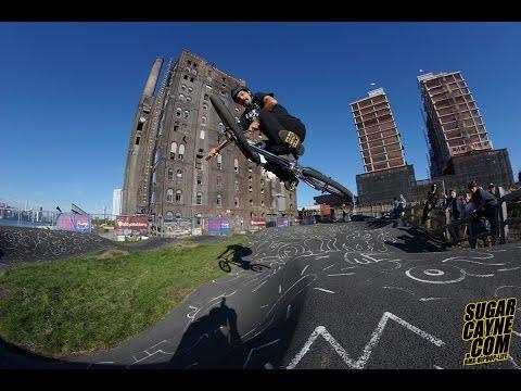 MAt Hoffman At Velosolutions Pump Track Brooklyn