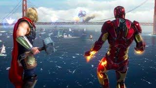 AVENGERS Game - Official Reveal Trailer (E3 2019)