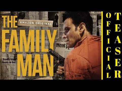 The Family Man Teaser Released: वेब सीरीज द फैमिली मैन के टीजर में मनोज बाजपेयी का दमदार लुक