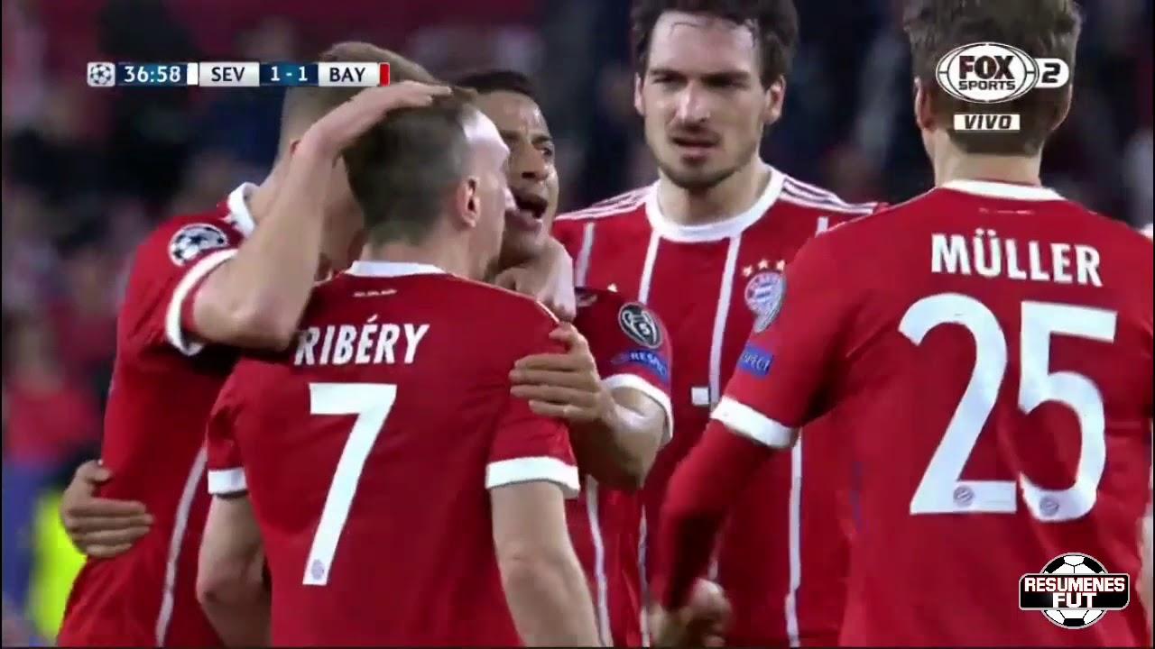 Download Sevilla vs Bayern Munich 1-2 Resumen Highlights Goles UCL 2018
