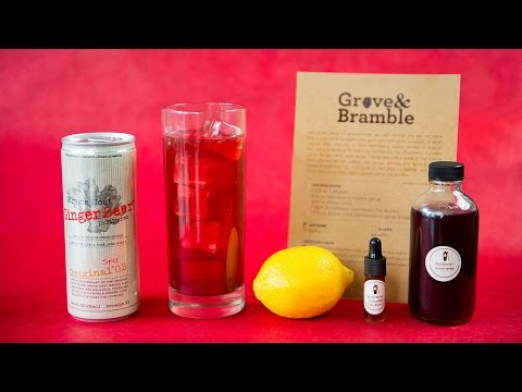 How to make Shaker & Spoon's Grove & Bramble cocktail