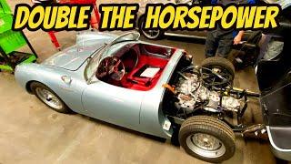 Installing a Subaru Boxer Engine Into A Porsche Spyder Tribute: The Beck Build Begins!
