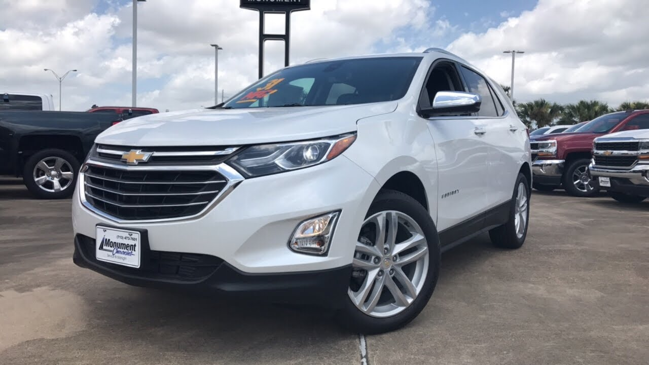 2018 Chevrolet Equinox Premier W/360° Camera & Panoramic ...