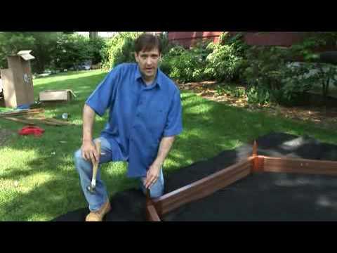 How to Build Frame It All Hexagonal Sandbox - YouTube