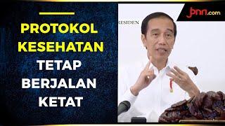 Idulfitri, Jokowi Tekankan Protokol Kesehatan Tetap Berjalan Ketat - JPNN.com