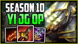 Master Yi Jungle Guide NO FUNNEL - Master Yi Commentary Guide Season 10 | League of Legends