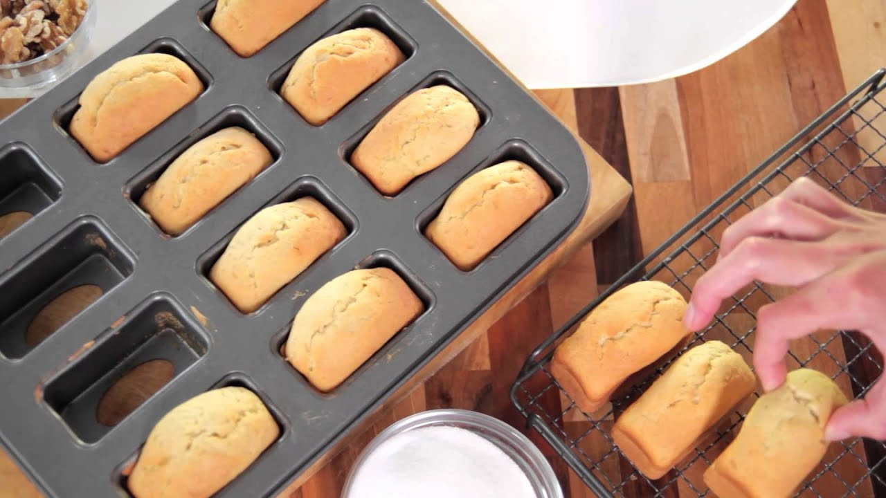 Baking A Cake In A Loaf Tin